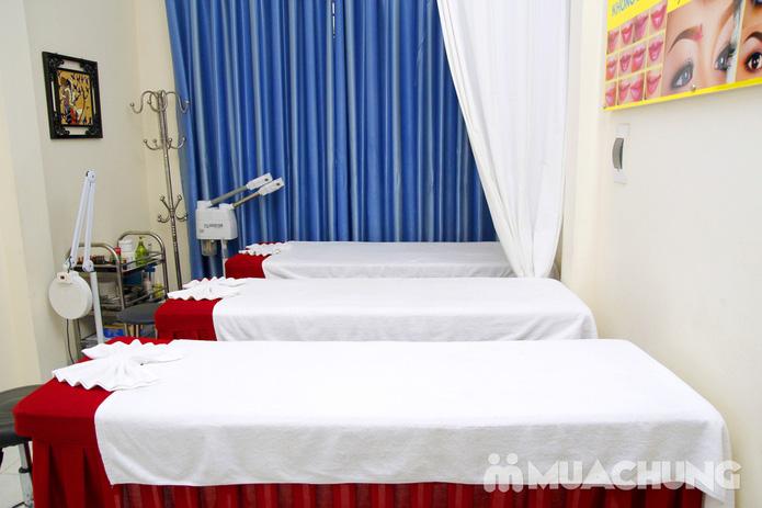 Chăm sóc da mặt bằng mặt nạ dát vàng tại Thẩm mỹ Khánh Phương - 29