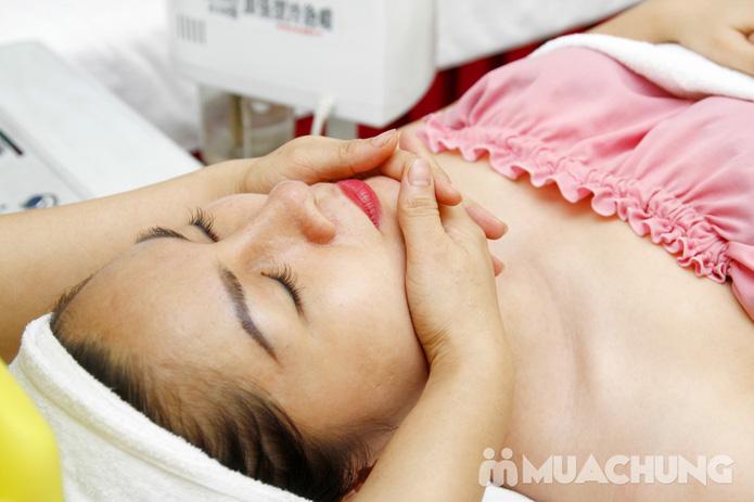 Chăm sóc da mặt bằng mặt nạ dát vàng tại Thẩm mỹ Khánh Phương - 7