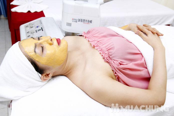 Chăm sóc da mặt bằng mặt nạ dát vàng tại Thẩm mỹ Khánh Phương - 23