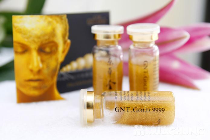 Chăm sóc da mặt bằng mặt nạ dát vàng tại Thẩm mỹ Khánh Phương - 1