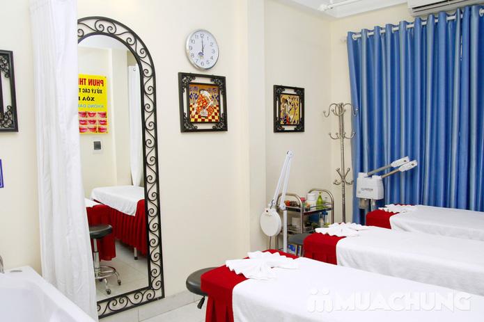 Chăm sóc da mặt bằng mặt nạ dát vàng tại Thẩm mỹ Khánh Phương - 28