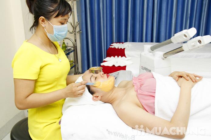Chăm sóc da mặt bằng mặt nạ dát vàng tại Thẩm mỹ Khánh Phương - 15