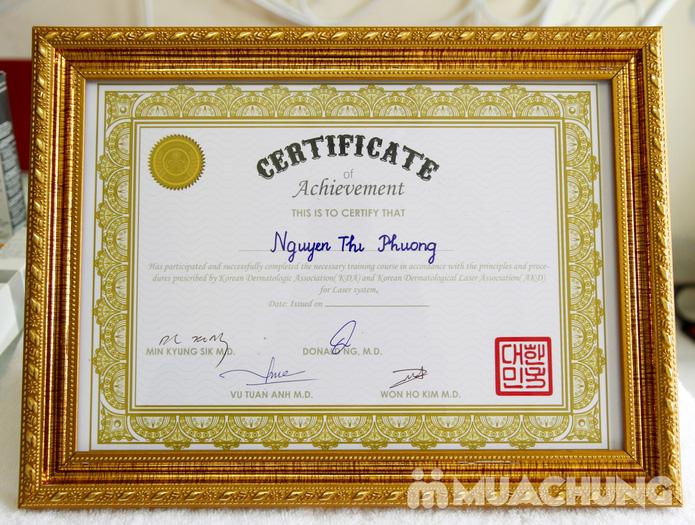 Chăm sóc da mặt bằng mặt nạ dát vàng tại Thẩm mỹ Khánh Phương - 26
