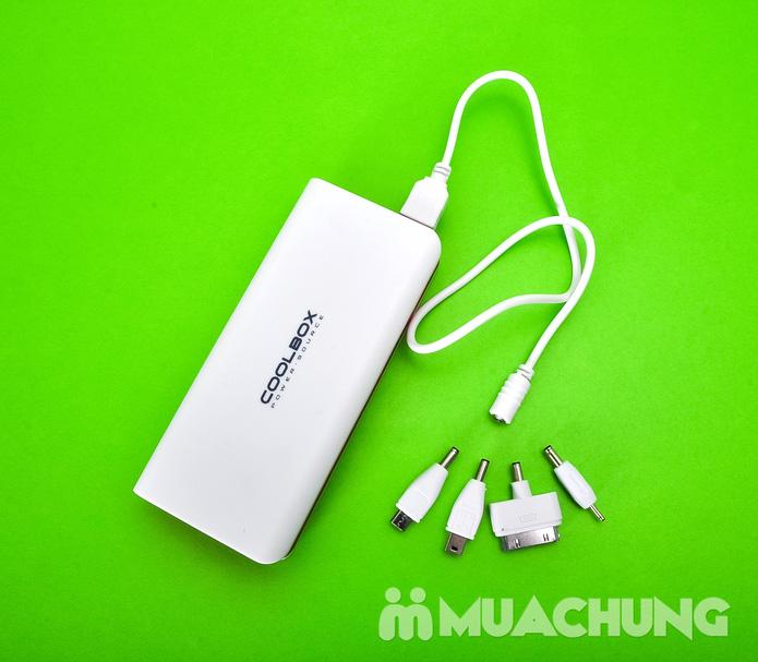 Pin sạc dự phòng CoolBox (ipad + Iphone + samsung) - 26000mAh - 7