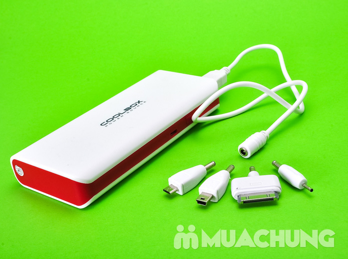 Pin sạc dự phòng CoolBox (ipad + Iphone + samsung) - 26000mAh - 8