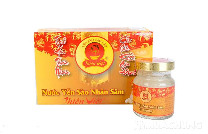 Nước yến sâm Thiên Việt (có đường hoặc không đường) - 7