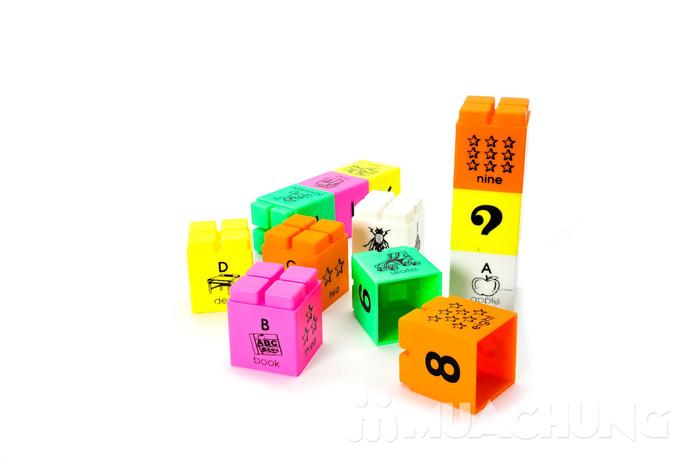 Bộ ráp chữ và số thông minh cho bé từ 2 tuổi trở lên - 6