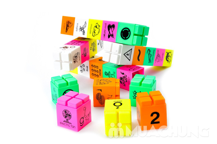 Bộ ráp chữ và số thông minh cho bé từ 2 tuổi trở lên - 9