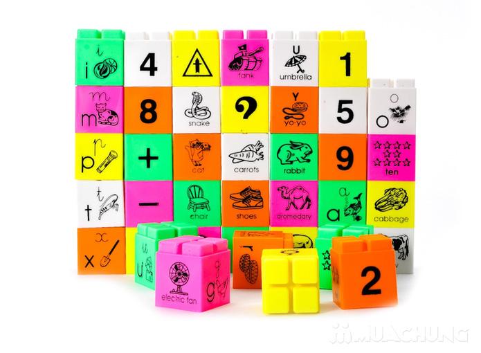 Bộ ráp chữ và số thông minh cho bé từ 2 tuổi trở lên - 1
