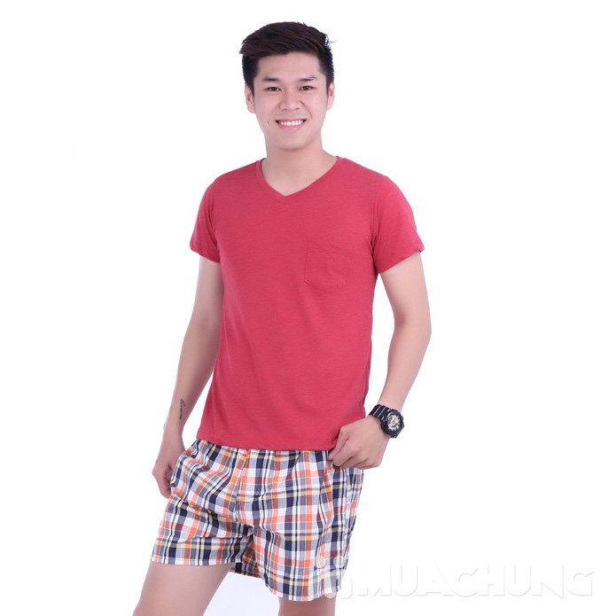 Combo 02 quần short nam cao cấp - 1
