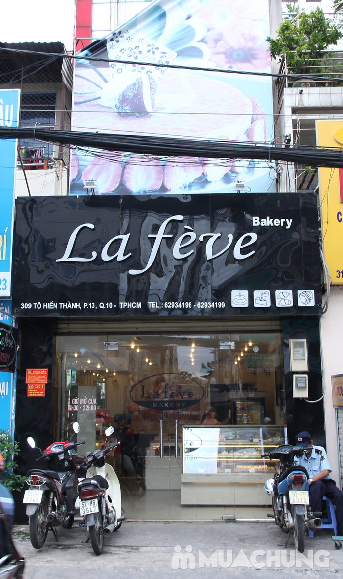 Bánh trung thu Lafeve Barkery hộp 6 bánh - 6