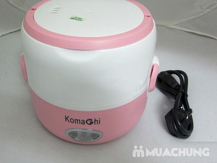 Hộp cơm hâm nóng Komachi 3 ngăn inox tháo rời - 6