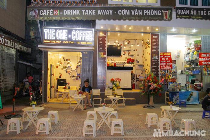 Voucher nước + thịt bò khô+ hướng dương tại The One Coffe - 1