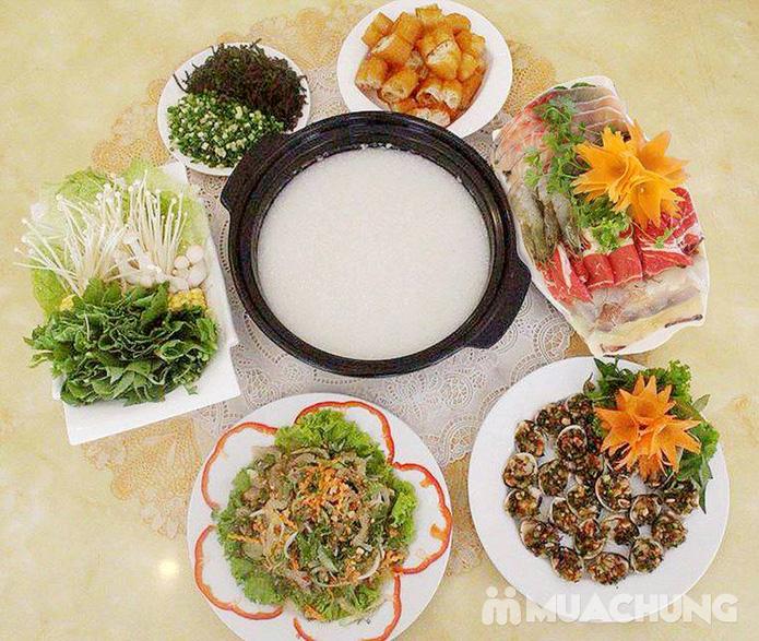 Sét ăn dành cho 4 người tại Nhà hàng lẩu cháo Hòa Hương - 1