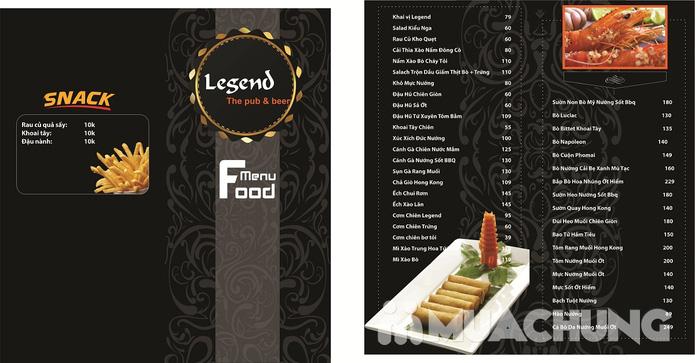 Phiếu giảm giá tại nhà hàng Legend Pub & Beer - 1