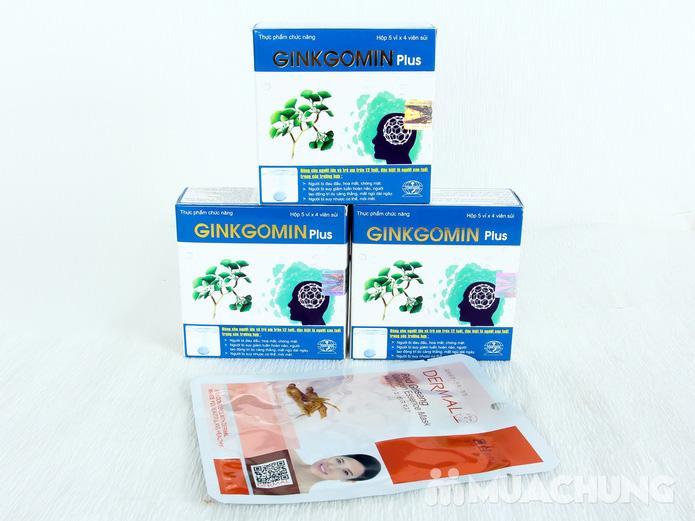 Combo 3 hộp Ginkgomin Plus kèm 1 mặt nạ dưỡng da nhập khẩu Hàn Quốc - 2