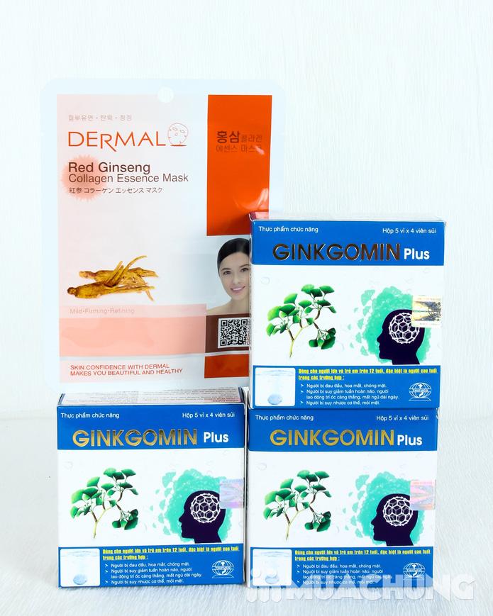 Combo 3 hộp Ginkgomin Plus kèm 1 mặt nạ dưỡng da nhập khẩu Hàn Quốc - 9