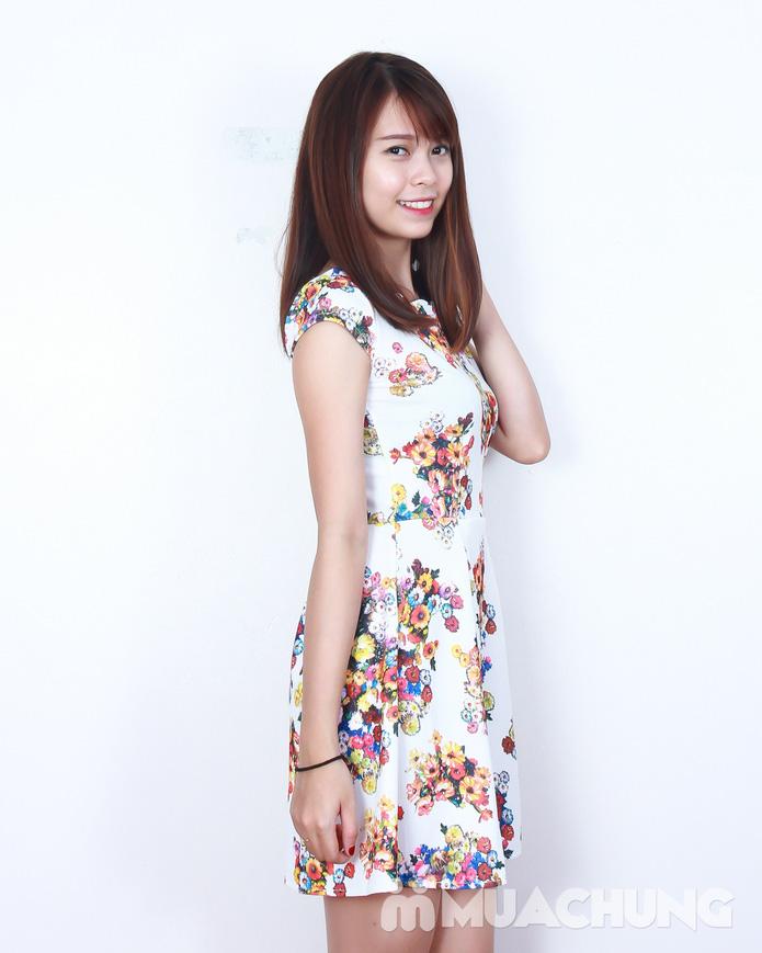 Váy xòe hoa điệu đà - 9