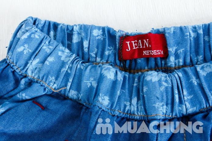 Quần ngố Jean - 2