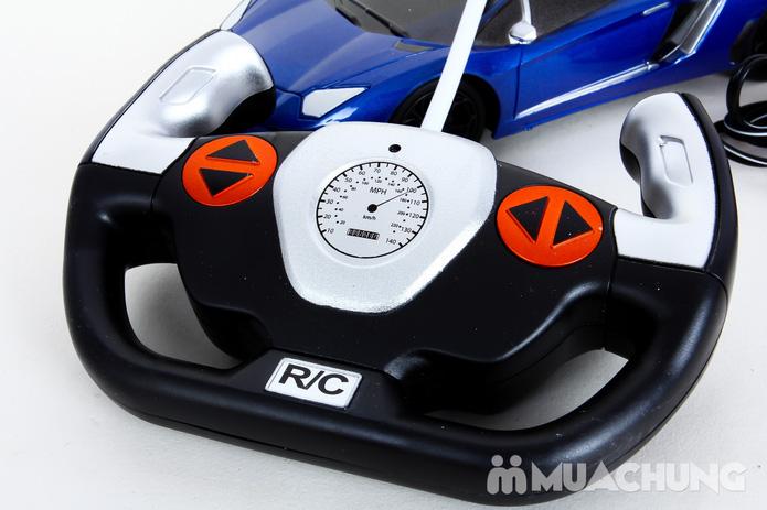 Ô tô điều khiển từ xa Lambroghini Aventador tỉ lệ 1:24 có pin sạc - 6