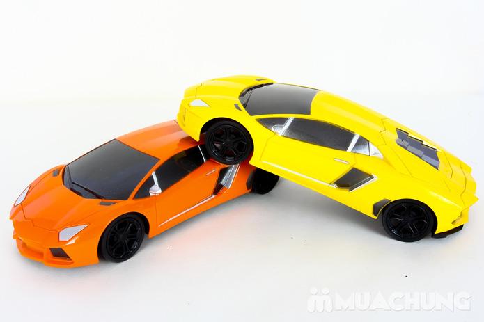 Ô tô điều khiển từ xa Lambroghini Aventador tỉ lệ 1:24 có pin sạc - 19