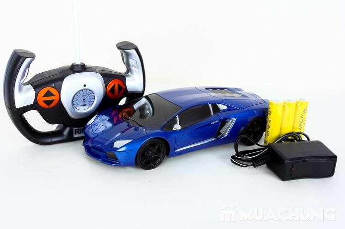 Ô tô điều khiển từ xa Lambroghini Aventador tỉ lệ 1:24 có pin sạc - 4