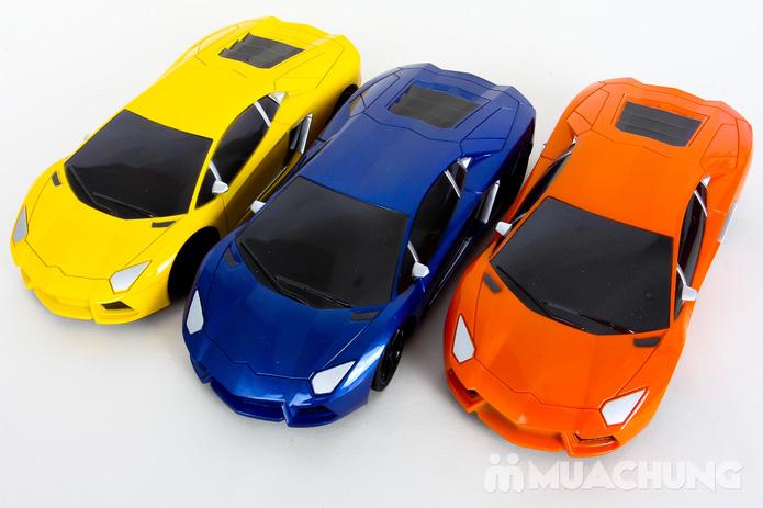 Ô tô điều khiển từ xa Lambroghini Aventador tỉ lệ 1:24 có pin sạc - 17