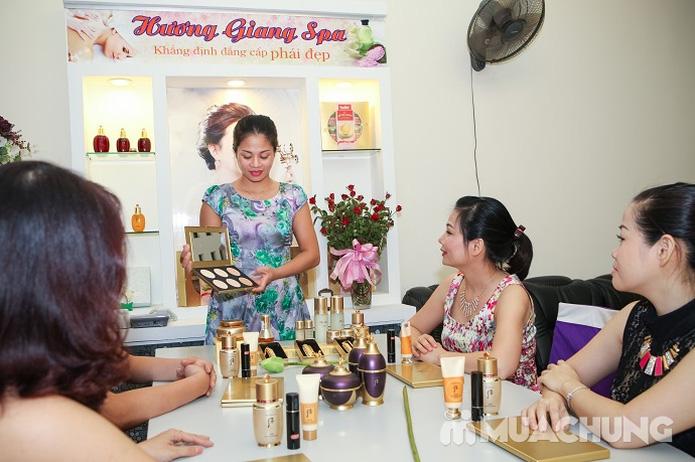 Chăm sóc da mặt và điều trị mụn cám, se nhỏ lỗ chân lông bằng sản phẩm Dermalogical tại Spa Hương Giang - 8