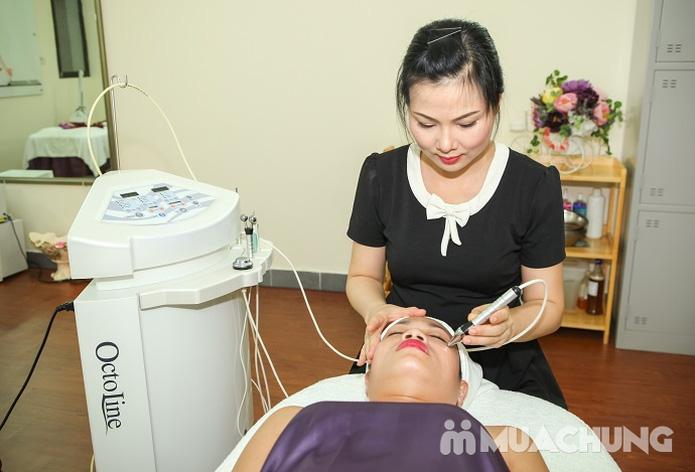 Chăm sóc da mặt và điều trị mụn cám, se nhỏ lỗ chân lông bằng sản phẩm Dermalogical tại Spa Hương Giang - 5