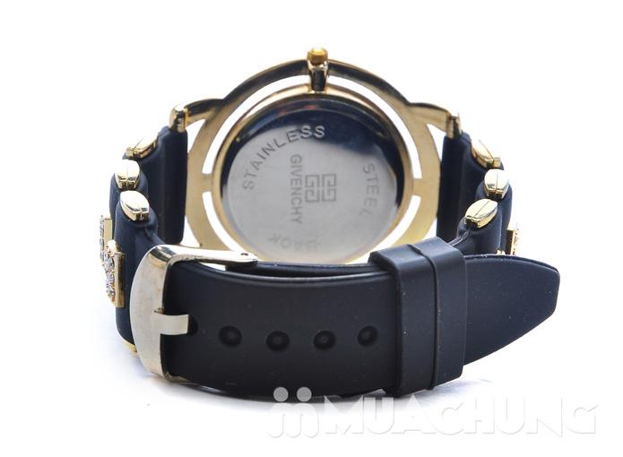 Đồng hồ nữ mặt tròn viền hạt - 6