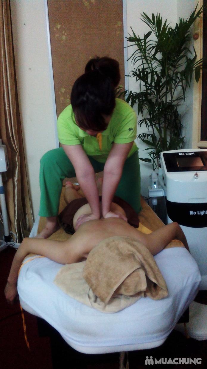 Massage body Thủy Điển kết hợp massage Thái + Đá nóng tại Link Spa - 1