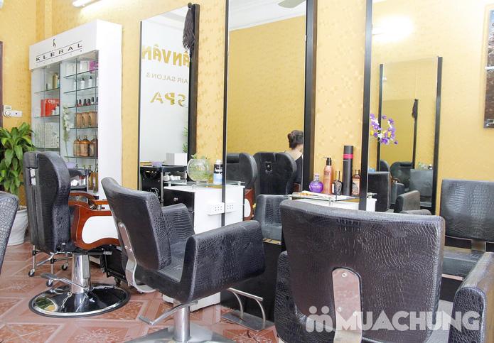 1 trong 3 gói chăm sóc tóc và da mặt tại Vân Vân Hair Salon & Spa - 10