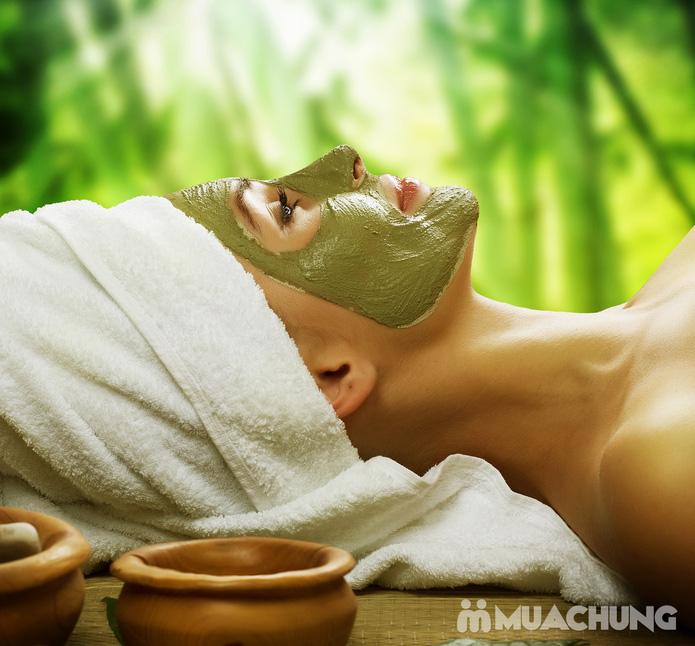 Massage Oxy tươi mặt nạ trà xanh nguyên chất làm trắng da tại Lilac Spa - 1