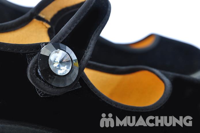Giày nhung đế xuồng - 3
