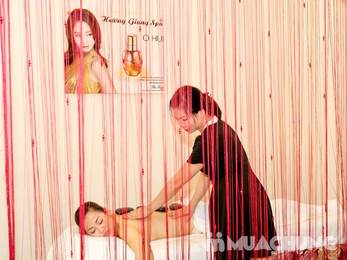 Massage body đá nóng toàn thân 90 phút tại Hương Giang Spa - 14