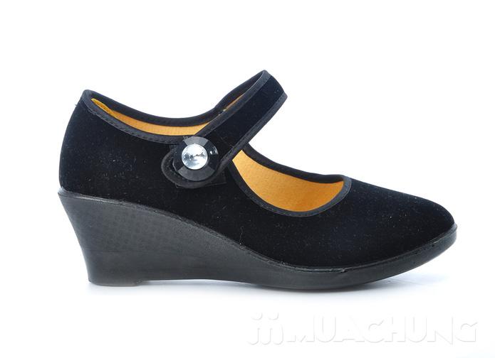 Giày nhung đế xuồng - 4