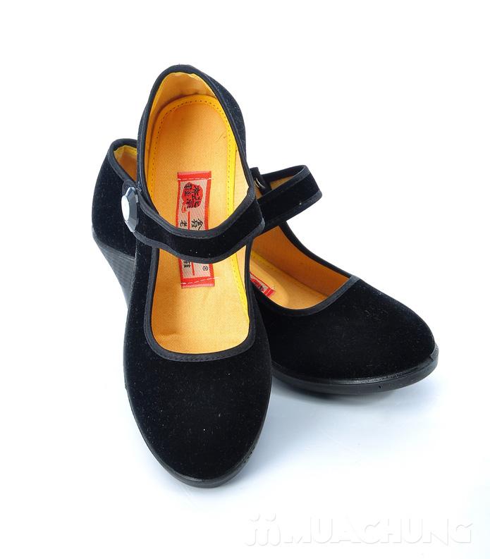 Giày nhung đế xuồng - 5