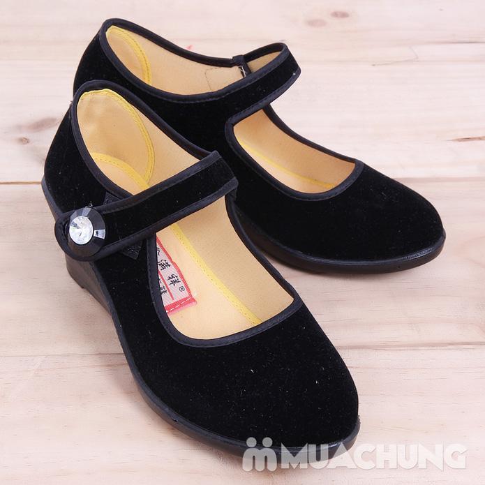 Giày nhung đế xuồng - 10