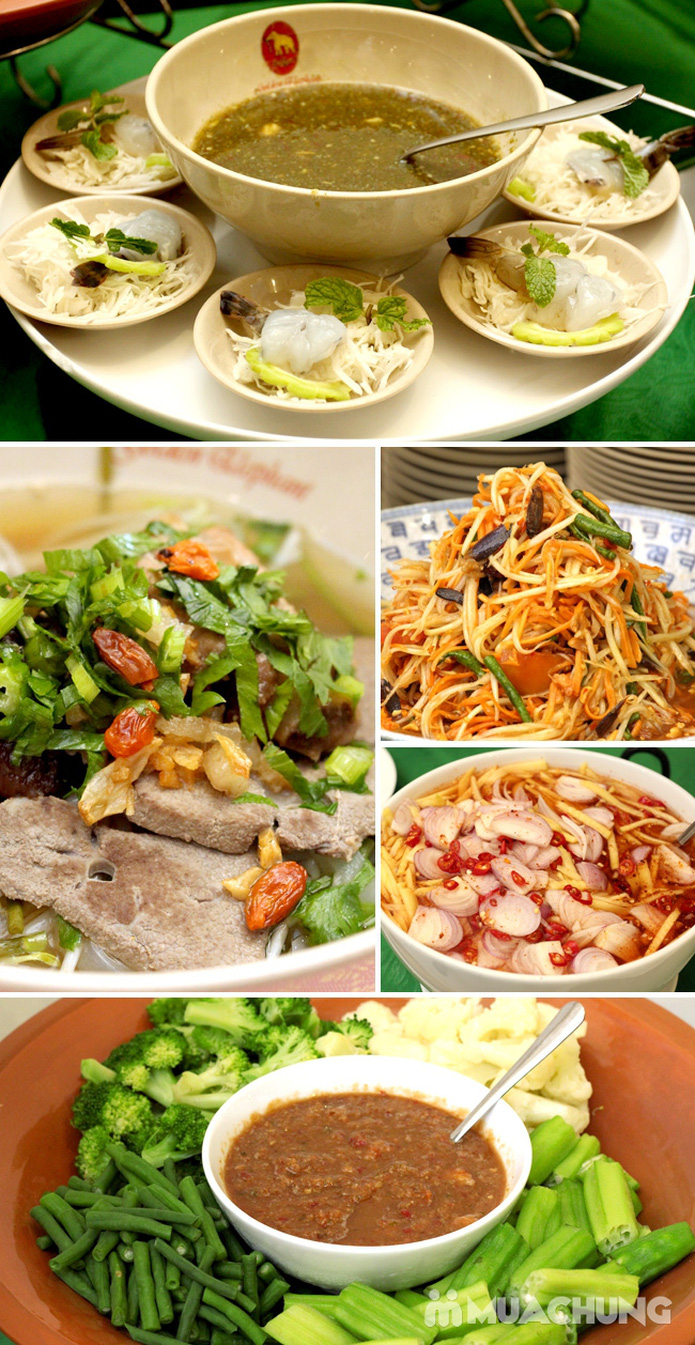 Buffet tối kiểu Thái - Nhà hàng Con Voi Vàng - 4
