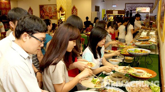 Buffet tối kiểu Thái - Nhà hàng Con Voi Vàng - 11