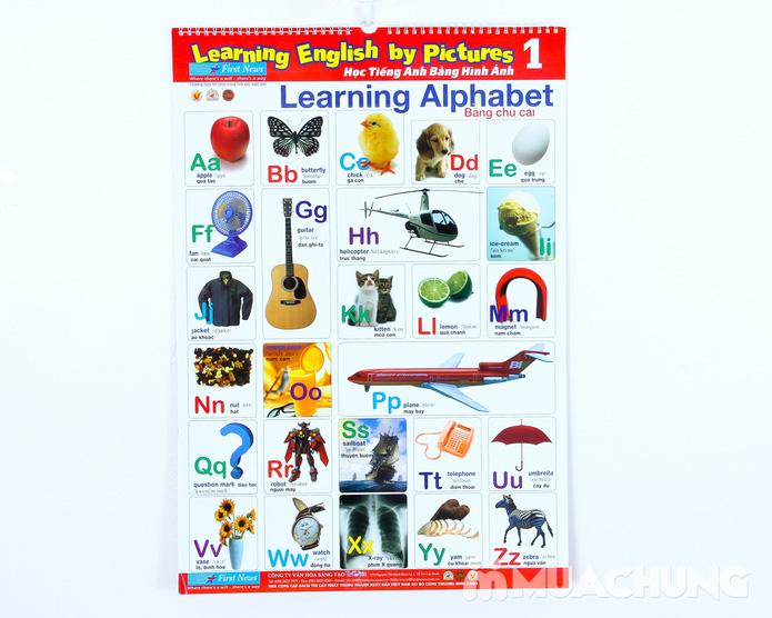 Bộ 3 Poster học tiếng anh cho bé - 1