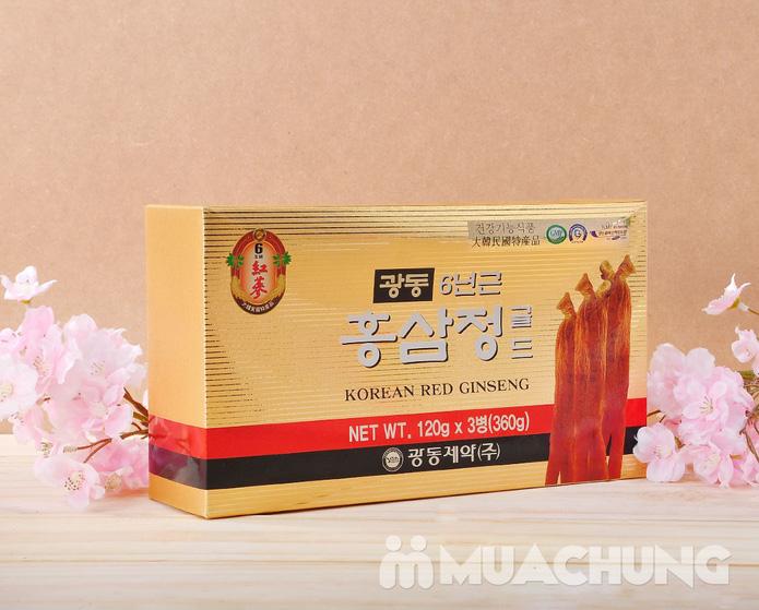 Hộp 3 lọ cao hồng sâm Kwang Dong 6 năm  - 1