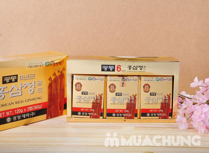 Hộp 3 lọ cao hồng sâm Kwang Dong 6 năm  - 2