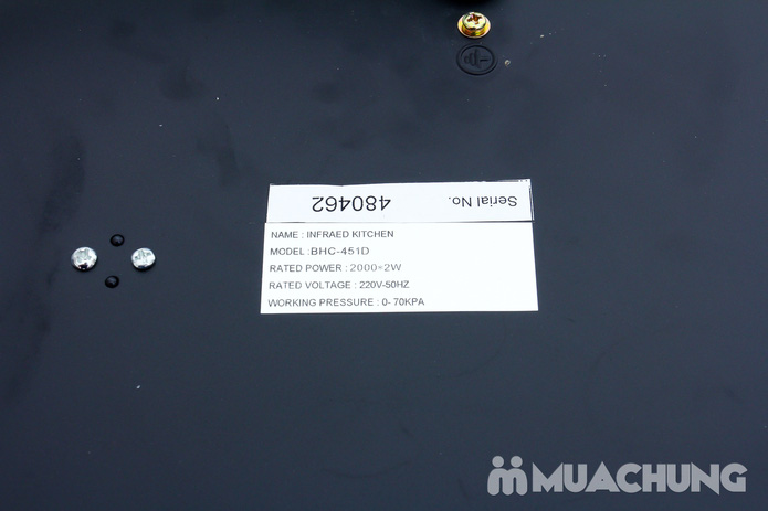 Bếp hồng ngoại đôi (mã BHC-451D) - 7