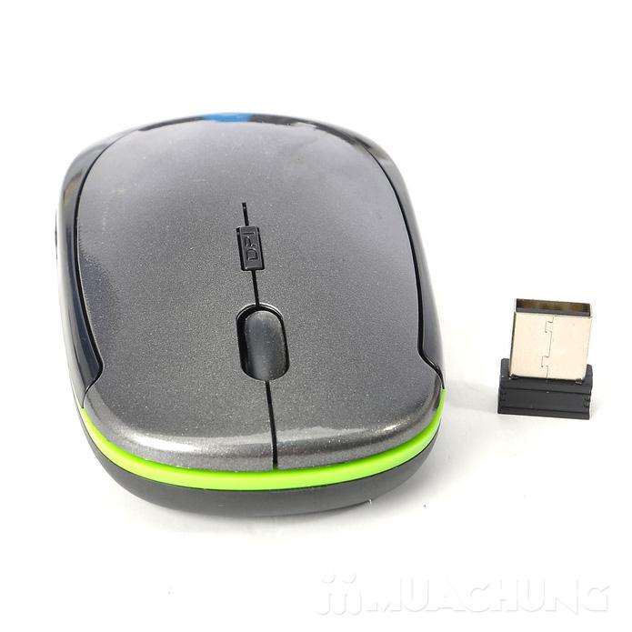 Chuột quang không dây thiết kế hiện đại, nhỏ gọn - 2