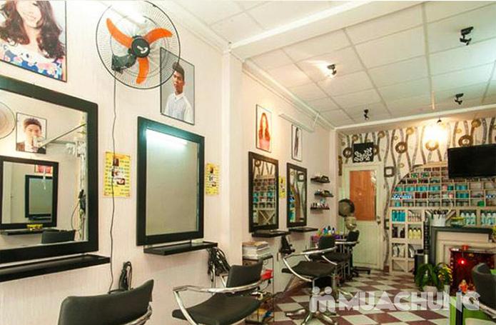 Uốn/Nhuộm/Duỗi/Bấm + Gội + Sấy tại Hair Salon Kéo Vàng - 2