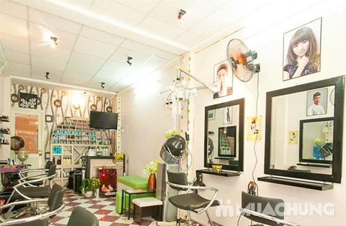 Uốn/Nhuộm/Duỗi/Bấm + Gội + Sấy tại Hair Salon Kéo Vàng - 1
