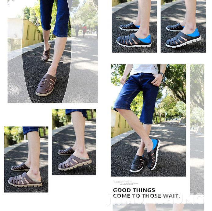 Giày nhựa nam thời trang - 1