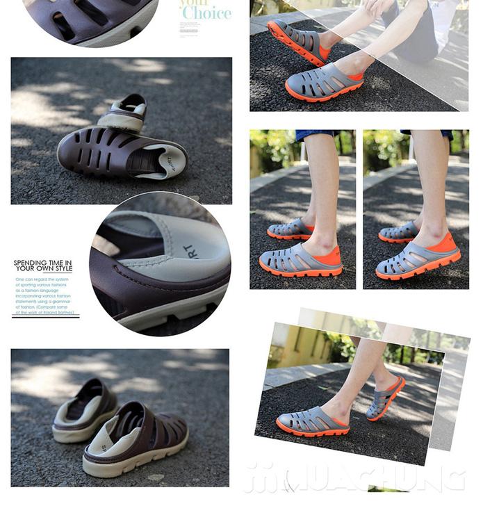 Giày nhựa nam thời trang - 3
