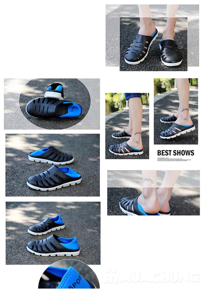 Giày nhựa nam thời trang - 2